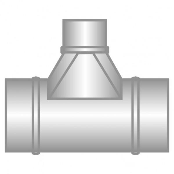 Spiro T-kus 90˚ redukovaný