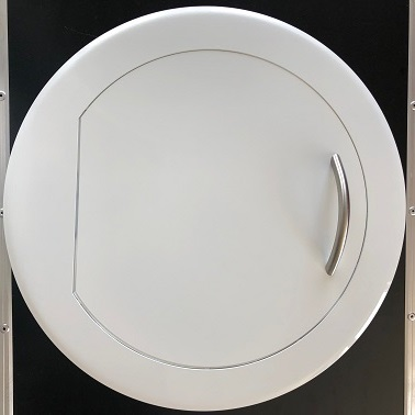 dvierka-na-zhod-Ø375mm-kov-biele